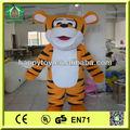 hi ce de alta calidad top venta tigre mascota de vestuario para adultos
