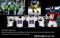 uniformes de fútbol americano