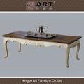 antiguo mobiliariodesala europeo de diseño de madera mesa de café