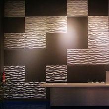 Eco- ambiente de cuero 3 dboard interior para la decoración de la pared