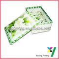 respetuoso del medio ambiente de cartón caja de flores
