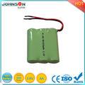 aa 3.6v pack baterias recargables
