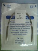 alambres SS dental orto