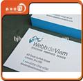Xhfj- b- bcc16 tipográfica de papel cor de borda cusom imprimir cartão de visita