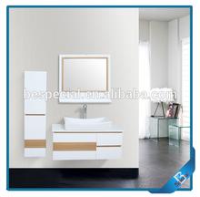 Hot Sale Luxury Wall Mounted PVC Luxury Bathroom Furniture