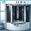 2014 nuevo modelo de alta calidad overbath ducha de vapor sala