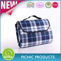bsci sedex auditados fabricante impresa impermeable portátil cobija de picnic