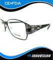 de alta calidad de metal marco de anteojos