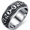 Venta caliente gran anillo de la joyería hecha con acero inoxidable GJ441