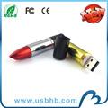 Lipstick pendrives 16 gb de capacidad real de alta velocidad con el CE RoHS de la FCC