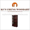 Portátil de estantería/estantería de madera maciza/estantes de madera para niños