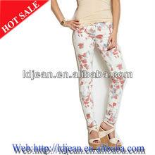 2013 diseño de prendas de vestir stocklot de jean de mezclilla pantalones turquía mujer de impresión, skinny jeans( ldzq66)