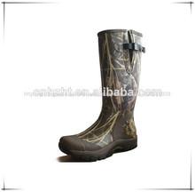 Durável produtos florestais/neoprene/forro de algodão camo botas de caça