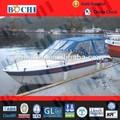 el certificado del ce 19 de fibra de vidrio pies barco cabinas