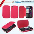 Funda Carcasa Piel Lujosa Folio Piel PU Magnético para Blackberry Q10