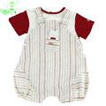 roupas de bebê recém-nascido ajustado macacão vestuário OEM de marca de roupas