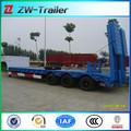 China 2014 tri- eixos pesados baixa cama semi reboque para venda, balcão refrigerado semi-reboque