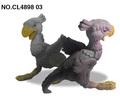 2014 nuevo producto el cambio de color de dinosaurio de plástico en el mercado de china