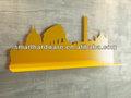 láser de corte decorativo de la pared estante de acero