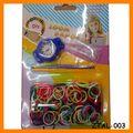 2014 Venta caliente Bandas Loom coloridos ver pulsera al por mayor ZTAL-003