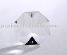niza cristal de bronce cuentas octógono cuentas de vidrio