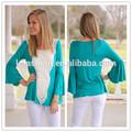 2014 de manga larga blusa de encaje para las mujeres lc128
