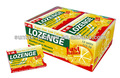pastillas para la garganta del caramelo de menta en el paquete de ampolla