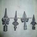 Valla ornamental de hierro fundido