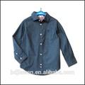 Chico de mezclilla 100% camisa de algodón de moda denim niños camisa camisa de vestir de diseño