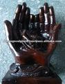 De la mano de la resina de la estatua de dios DSF-H001