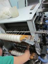 Poco de Capactiy Hilados de lana de algodón Máquinas completas