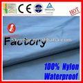 2015 popular impermeável de nylon brilhante tecido de lycra