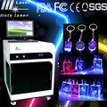 hsgp mejor de la serie 3d grabador láser de cristal de la máquina 3d de fotos de cristal máquina de grabado láser