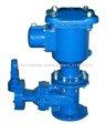 Doble válvula de aire del orificio con válvula de compuerta de aislamiento