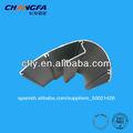 La exposición& dispaly equipos para perfiles de aluminio