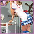 Hot Extremadamente Seductora Disfraces populares de Halloween para PP1187 Mujeres Marinero modelo Costume