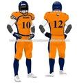 el diseño de su propia camiseta de fútbol americano uniforme