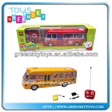 4ch mando a distancia de autobús juguetes para la venta