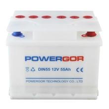 din batería del vehículo de la batería de auto estándar