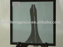 de baja emisividad de vidrio templado con aislamiento de vidrio para edificios