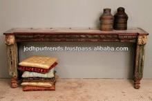 resina de antigüedades de la consola de mesa de estilo indio roomfurniture vida