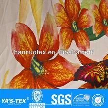 design de moda para o vestido de festa tecidos impressos flores de tecido