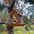 personalizada de fábrica al por mayor de resina casa del pájaro