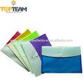 A prueba de agua bolsa de documento protector, la promoción de plástico archivo de documento bolsa