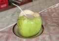 el agua de coco