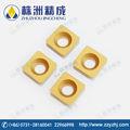 Diamante marca del carburo de tungsteno CNC torneado introducir herramientas de corte de calidad superior SDNB080209 YBC151
