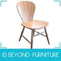 clásico de madera silla de madera curvada