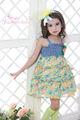 crianças uma cinta vestidos, vestidos de baile para crianças, vestido de bebê meninas malha