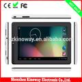 de doble núcleo de larga duración de la batería inteligente almohadilla de 7 pulgadas tablet pc android mid