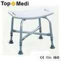 topmedi fs7971l banho banco de alumínio da série cadeira de banho